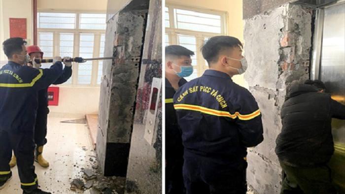 Sửa thang máy cho trường mầm non, nam nhân viên ngã tử vong