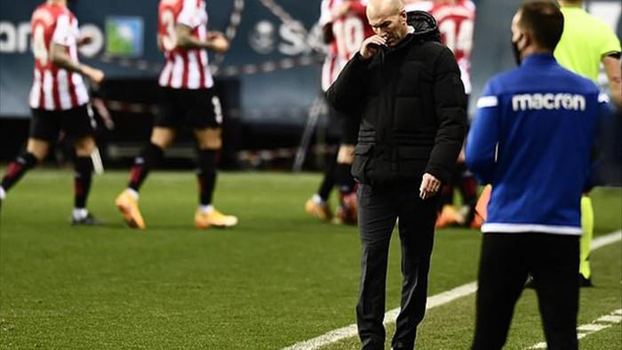 HLV Zidane: Real Madrid không phải buồn vì thua Bilbao - 1