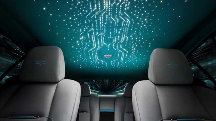 Thiết kế trời sao trên xe Rolls-Royce