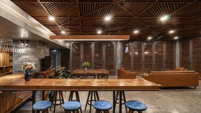 Nội thất sang chảnh trong căn biệt thự 400 m2 trên đỉnh đồi ở Đà Lạt - 8