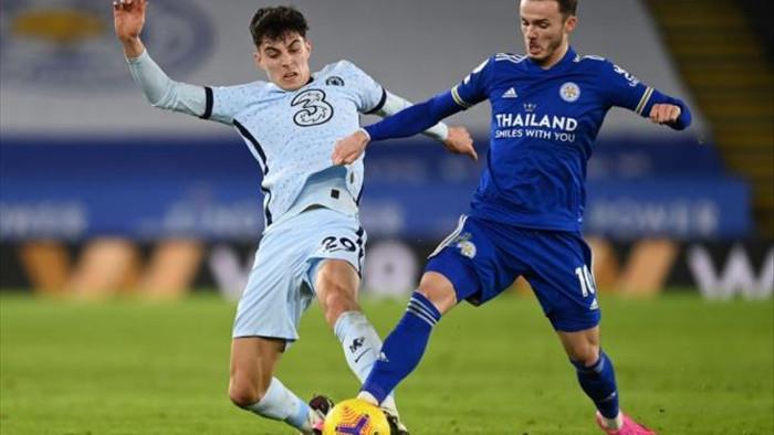 Đánh bại Chelsea, Leicester chiếm ngôi đầu Ngoại hạng Anh - 1