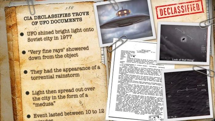 CIA tiết lộ báo cáo về đĩa bay từng viếng thăm Liên Xô cũ vào năm 1977 - 1