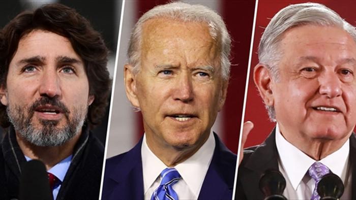 Ông Biden lần đầu điện đàm với lãnh đạo nước ngoài - 1