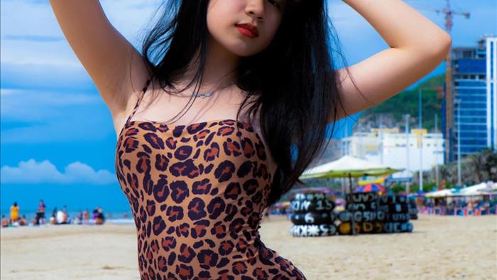Con gái 16 tuổi, xinh như hoa hậu của Lưu Thiên Hương - Ảnh 6.