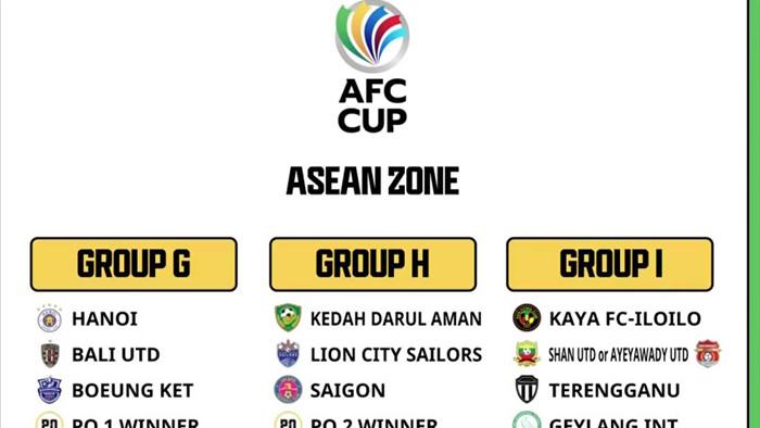 AFC Cup 2021: Hà Nội dễ thở, Sài Gòn gặp khó