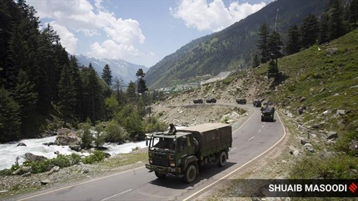 Ấn Độ lên án Trung Quốc điều quân ồ ạt qua biên giới tranh chấp - 1