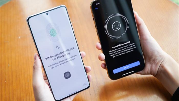 Galaxy S21 Ultra đọ dáng iPhone 12 Pro Max - 10