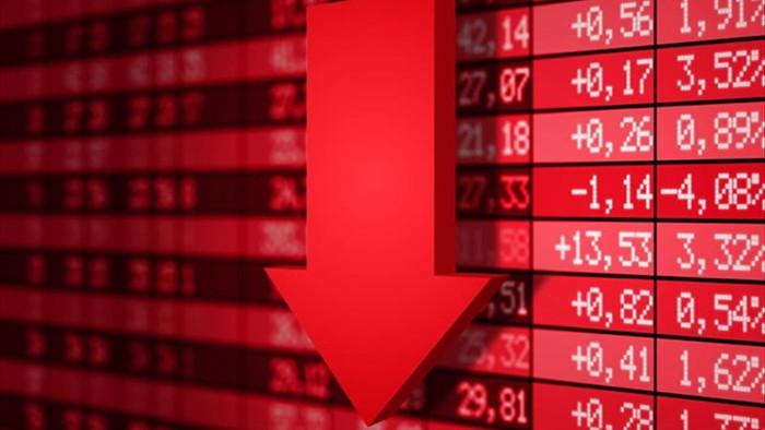 VN-Index lại rơi tự do, cổ phiếu lớn rực lửa - 1
