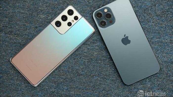Nên mua iPhone 12 Pro Max hay Galaxy S21 Ultra?