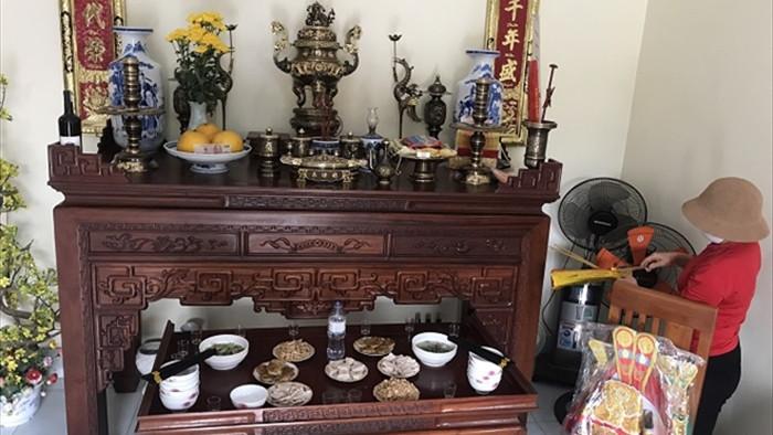 Mâm cơm đặc biệt cúng Táo quân trong tâm dịch Chí Linh - 2