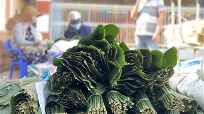 Chợ lá dong đông đúc nhất Sài Gòn chỉ còn vài người bán - Ảnh 6.