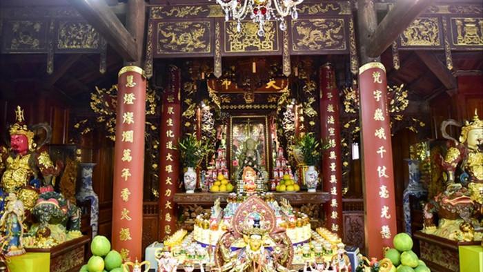 Tượng Phật từ đá quý nguyên khối trong ngôi chùa nghìn năm tuổi ở Hà Nội - 6