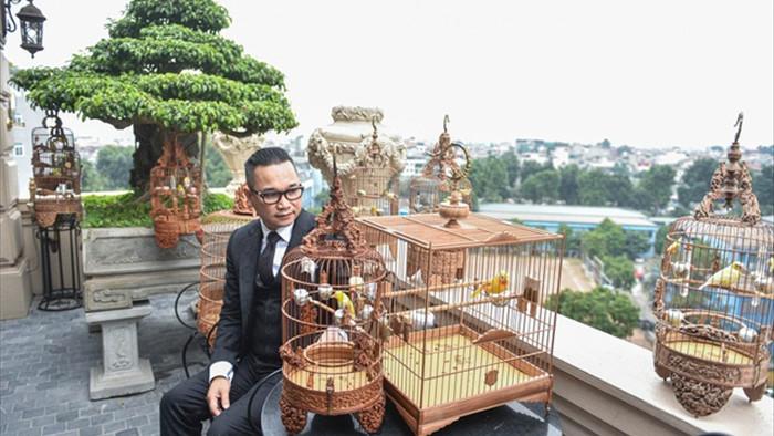 Săn lùng hoàng mào chơi Tết, đại gia thuê hẳn xe riêng đón chim quý về nhà - 6