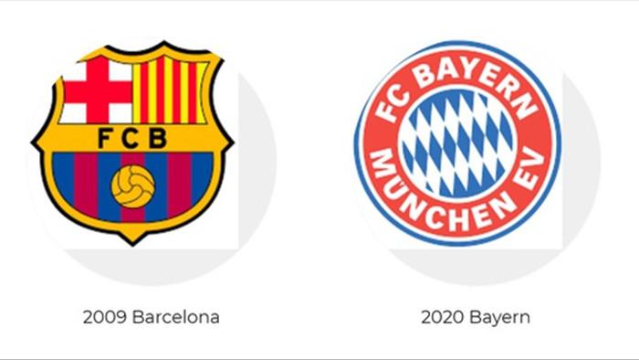 So sánh sức mạnh đội hình ăn 6 vĩ đại của Barcelona và Bayern Munich - 6