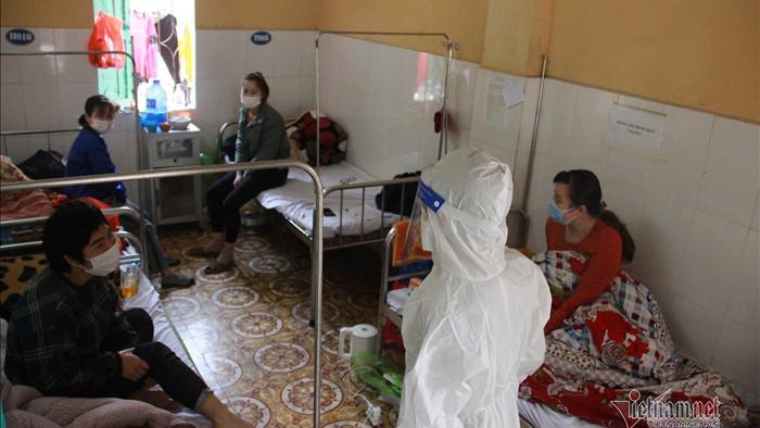 Diễn tiến sức khỏe 68 bệnh nhân có dấu hiệu tổn thương phổi tại Chí Linh