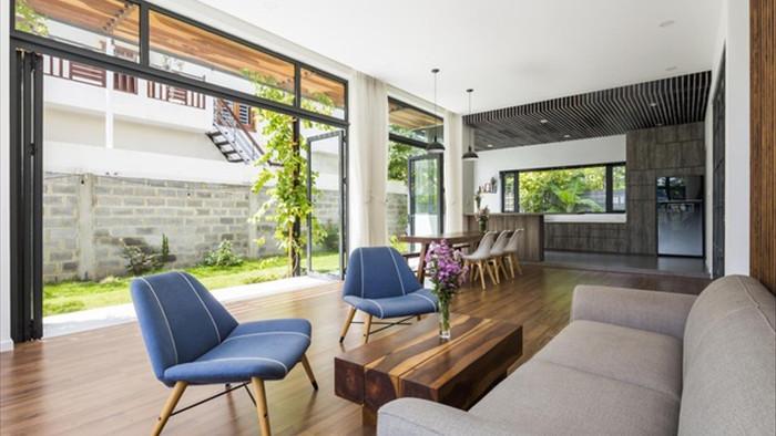 Cuộc sống vui thú điền viên trong căn nhà 3 tầng ngập cây xanh ở Nha Trang - 5
