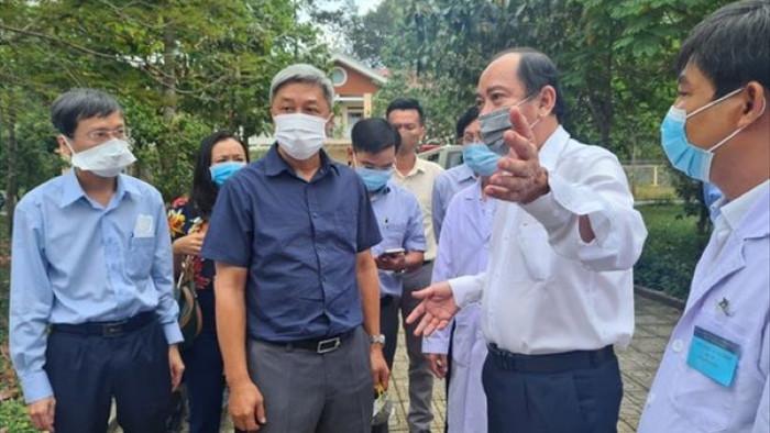 Thứ trưởng Nguyễn Trường Sơn rời TP.HCM tới Hải Dương hỗ trợ chống dịch - 1