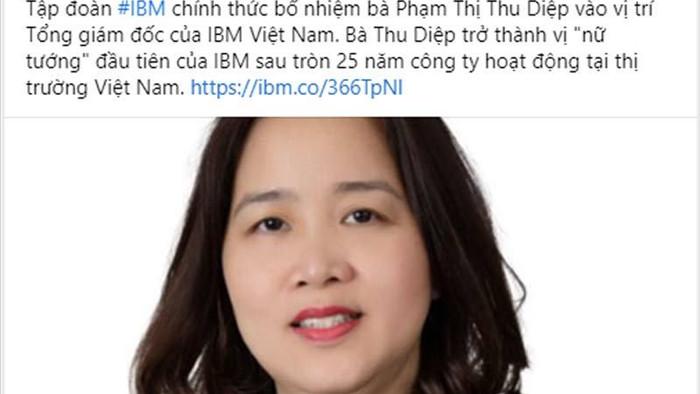 Ấn tượng nữ tướng Việt vào Top lãnh đạo tập đoàn toàn cầu