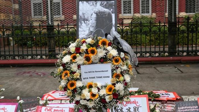 Người đầu tiên thiệt mạng trong biểu tình phản đối đảo chính ở Myanmar - 1