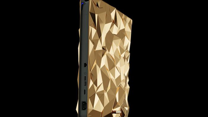 Phát thèm với phiên bản PlayStation 5 mạ vàng 18 cara trị giá tới 500 ngàn USD của Caviar - Ảnh 2.