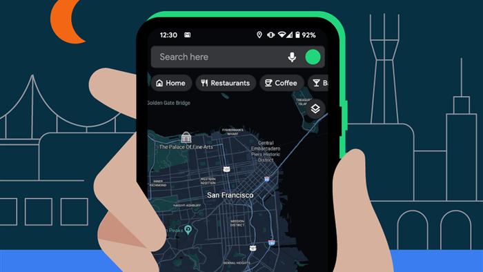 Google Maps chính thức có chế độ Dark Mode - Ảnh 1.