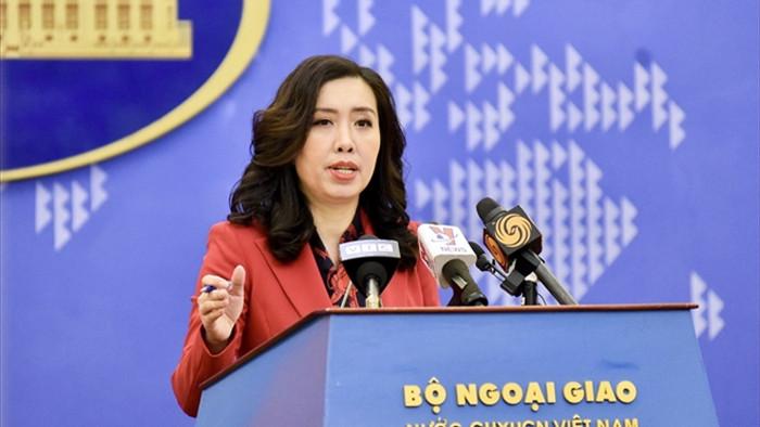 Tàu hải cảnh Trung Quốc áp sát giàn khoan Hải Thạch, Bộ Ngoại giao lên tiếng - 1