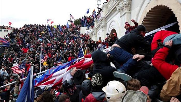 Mỹ truy tố hơn 300 người vụ bạo loạn ở quốc hội