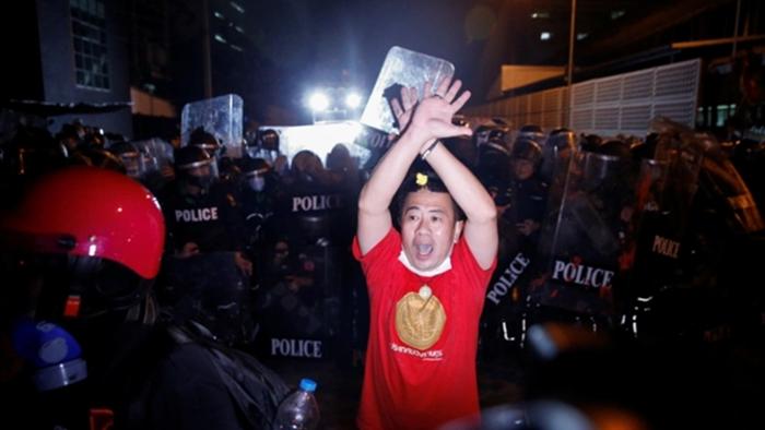 Biểu tình ở Thái Lan 'nóng' trở lại sau biểu tình Myanmar? - 1