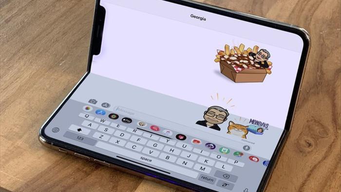 iPhone màn hình gập phải đến 2023 mới được ra mắt - 1
