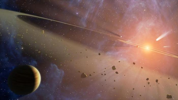 Cổ xưa hơn cả Trái Đất, mảnh thiên thạch tìm thấy ở Sahara hé lộ bí mật của hệ Mặt trời thủa sơ khai - Ảnh 2.