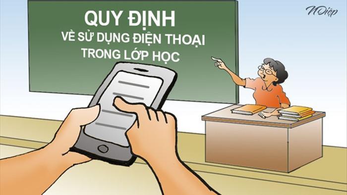 Bộ GDĐT trả lời việc cho HS dùng điện thoại trên lớp: Thực hiện linh hoạt - 1
