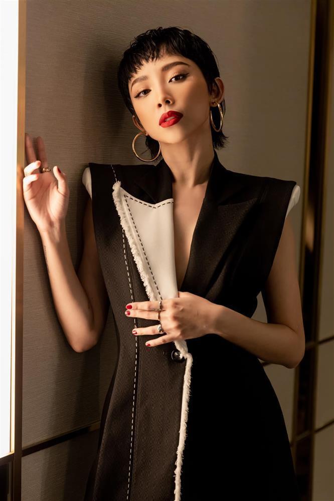 Tóc Tiên bị tóm lỗi khi khoe tóc giống Lee Min Ho-1