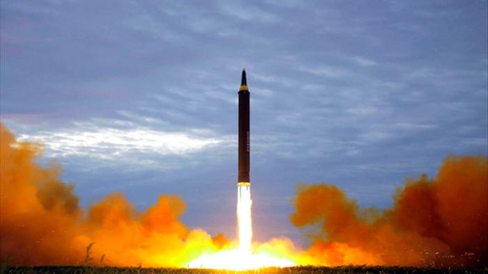 Triều Tiên lần đầu phóng tên lửa dưới thời Tổng thống Mỹ Biden - 1