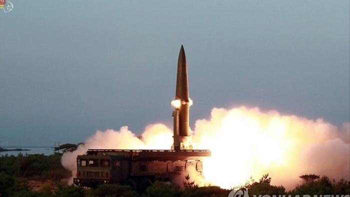 Triều Tiên có thể vừa phóng tên lửa đạn đạo