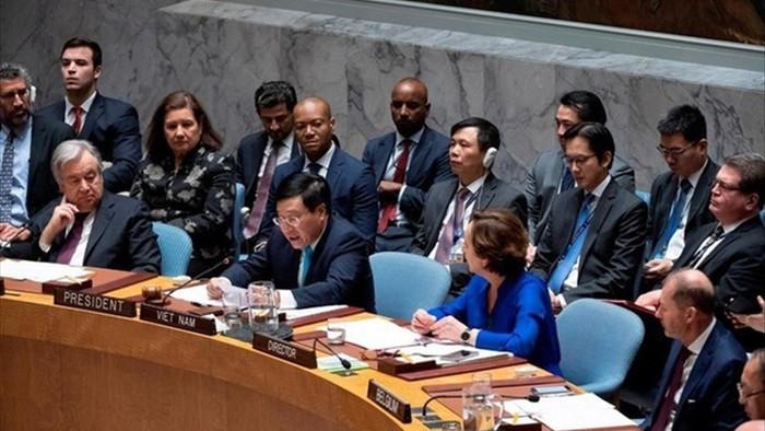 Lần thứ 2 Việt Nam làm Chủ tịch Hội đồng Bảo an Liên hợp quốc - 1