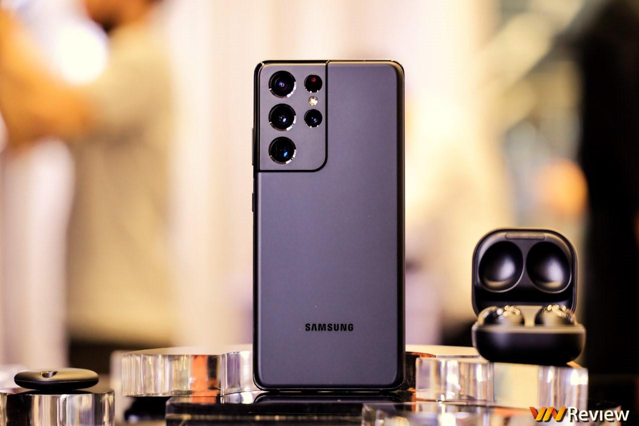 Trên tay Galaxy S21 Ultra tại Việt Nam: S Pen mượt như Note, lần đầu tiên có tới 2 ống kính tele