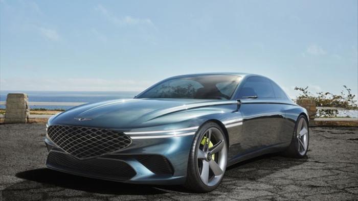 Genesis X Concept hứa hẹn sẽ là bom tấn trong làng xe chạy điện - 1