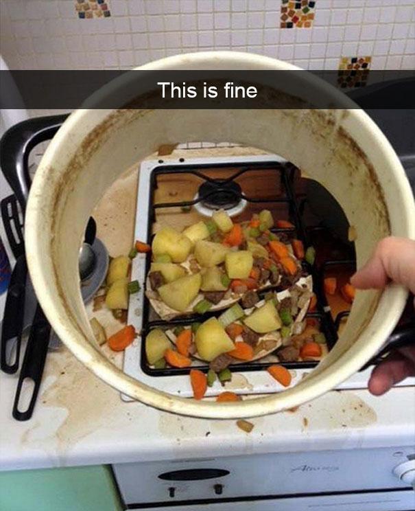 Sang chấn tâm lý với kiểu nấu ăn của hội gái đoảng-3