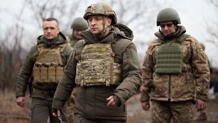 Biên giới với Nga căng thẳng, Ukraine lên kế hoạch tập trận với NATO - 1