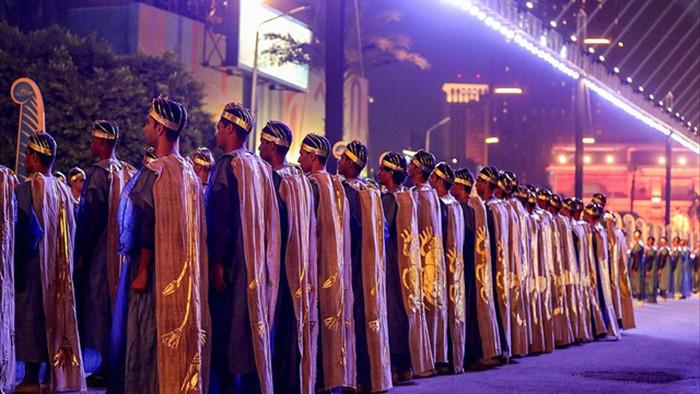 Choáng ngợp diễu hành xác ướp 3.000 tuổi của hoàng gia Ai Cập - 12