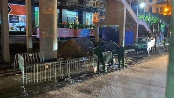 Nữ công nhân môi trường bị sát hại ngay trên phố Cầu Giấy