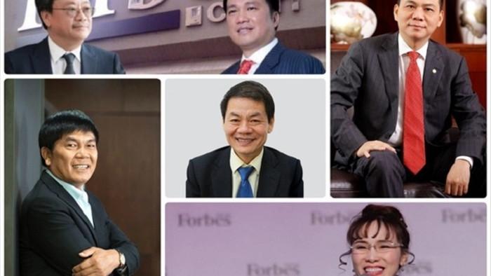 Forbes: Việt Nam có 6 tỷ phú USD 2021 - 2