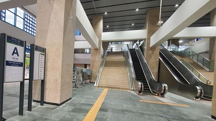 Hành khách sẽ đi tàu đường sắt trên cao Cát Linh - Hà Đông thế nào? - 1