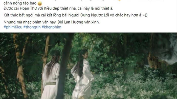 Phim 'Kiều' ngập cảnh nóng kém sang, Kiều bị biến thành 'trà xanh' mờ nhạt? - 7