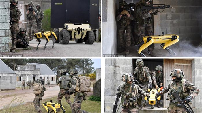 Quân đội Pháp ôm mộng số hóa chiến trường với siêu khuyển robot - 2