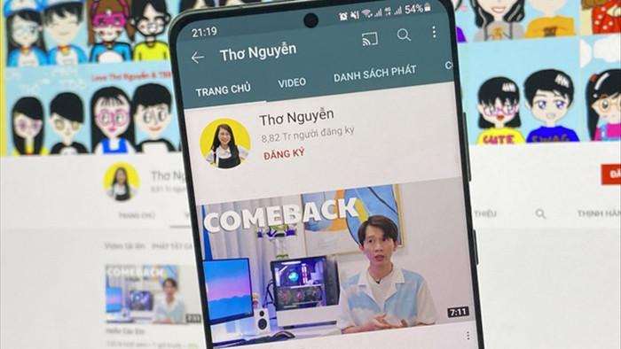 Kênh YouTube Thơ Nguyễn bất ngờ hồi sinh - 1