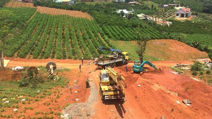 Bộ TN&MT thanh tra thực trạng xẻ đồi, phân lô bán nền tràn lan tại Lâm Đồng - 1