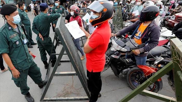 Covid-19 lây lan quá nhanh, Thủ tướng Campuchia cảnh báo mở rộng phong tỏa