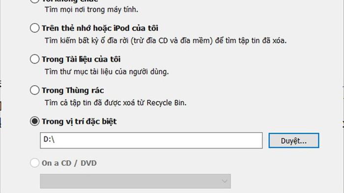 Thủ thuật giúp khôi phục dữ liệu bị xóa nhầm trên máy tính - 4