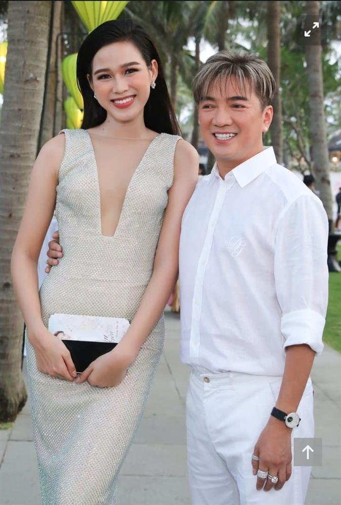 Hoa hậu Đỗ Thị Hà phá lệ để Đàm Vĩnh Hưng ôm eo?-1